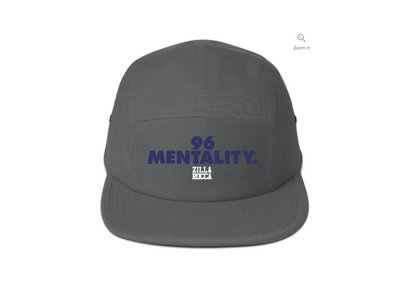 96 Mentality Five Panel Hat Gray main photo