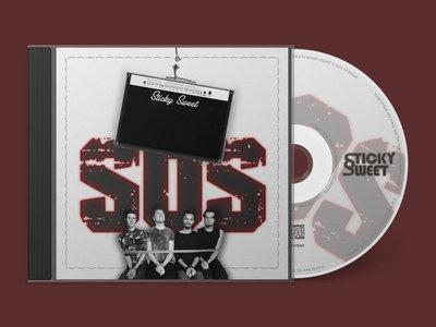 Hardcopy (CD) of our single 'S.O.S.' main photo