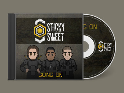 Hardcopy (CD) of our single 'Going On' main photo
