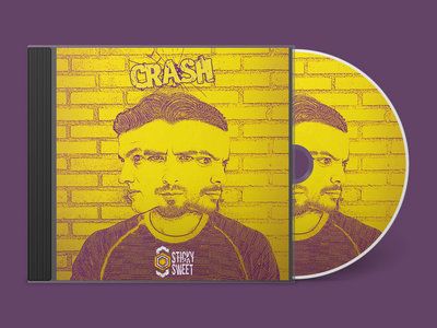 Hardcopy (CD) of our single 'Crash' main photo