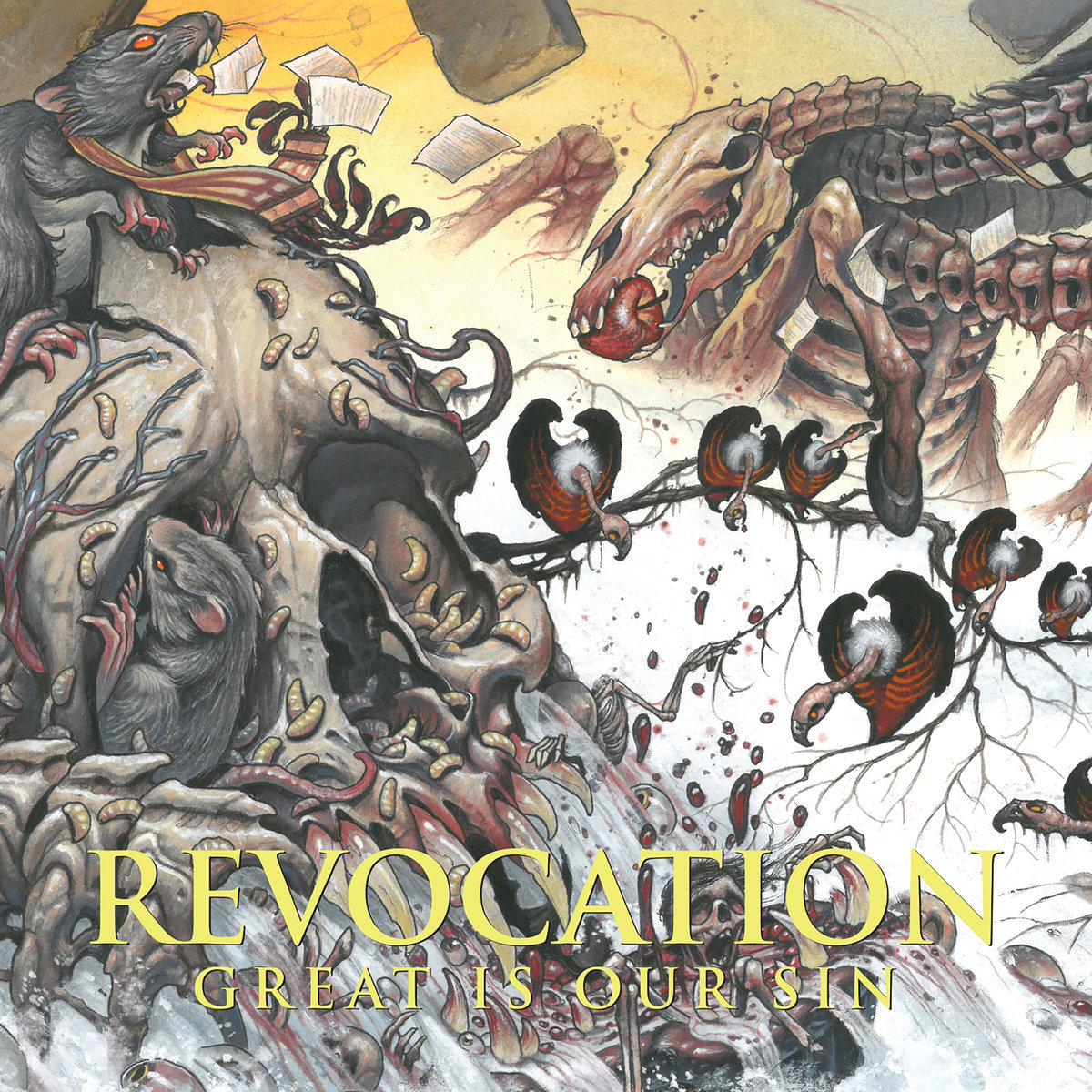 REVOCATION - Great Is Our Sin CD | Possession