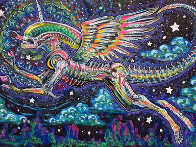 Rainbow Unicorn Xenomorph (They Only Come Out at Night, Mostly...) main photo