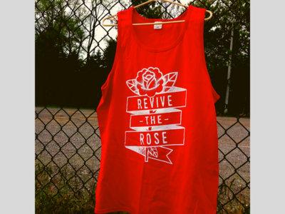 Revive the Rose - Mens Tanks (Red) main photo