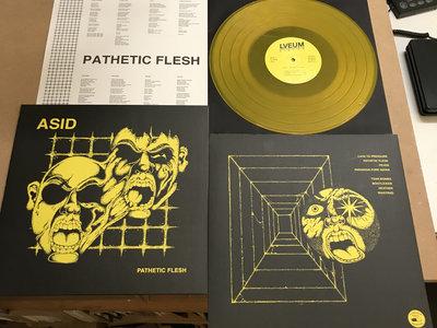 MUS191 ASID - Pathetic Flesh MLP Yellow Vinyl main photo