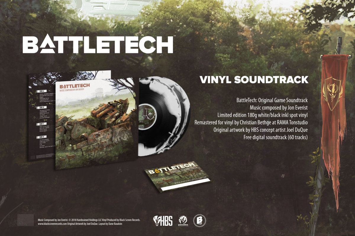 BATTLETECH (Original Soundtrack)   Jon Everist