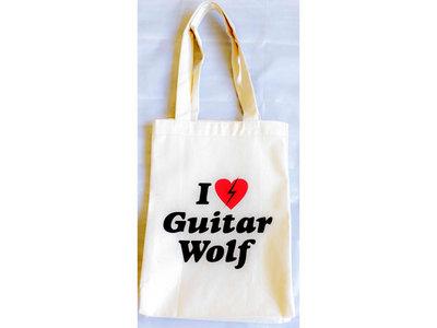 I Love Guitar Wolf Tote Bag main photo