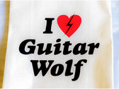 I Love Guitar Wolf Tote Bag photo