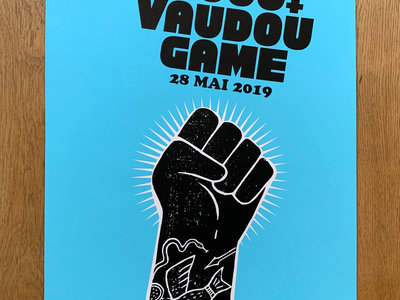 Exclusive Vaudou Game / BCUC concert Serigraphy main photo
