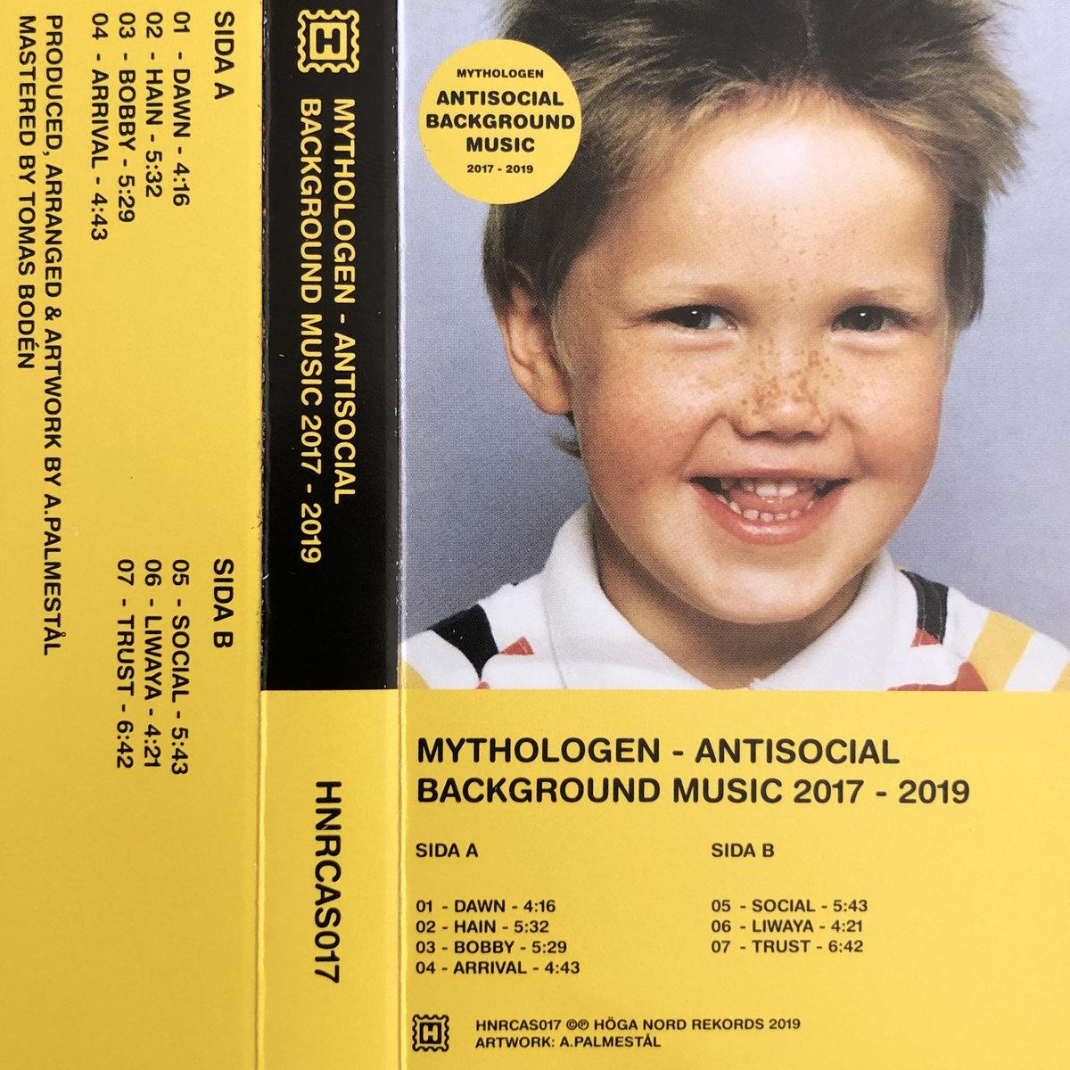 HNRLP017: Antisocial Background Music 2017 - 2019   Höga