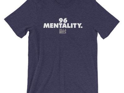 96 Mentality Plain Logo Tee - Navy main photo