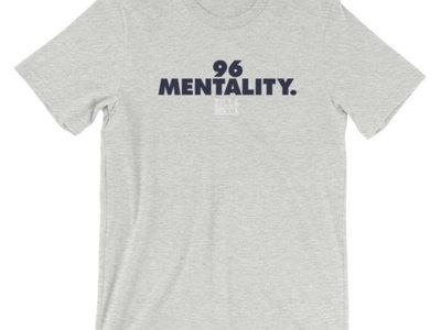 96 Mentality Plain Logo Tee - Heather Gray main photo