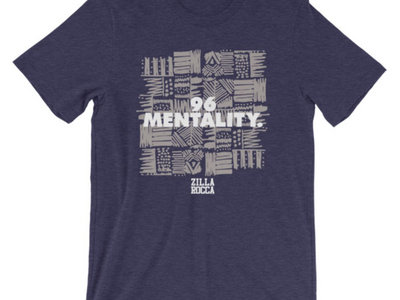 96 Mentality Checkerboard T-Shirt - Navy main photo