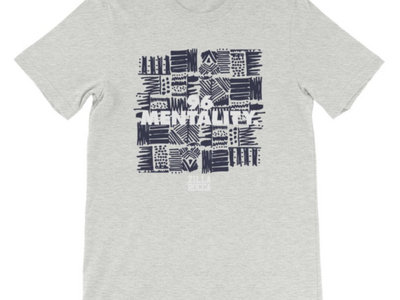96 Mentality Checkerboard TShirt - Heather Gray main photo