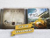 12-CD signed bundle photo
