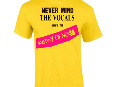 Never Mind The Vocals T-Shirt main photo