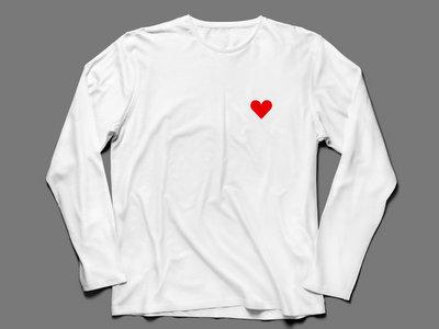 Lone Romantic - Long Sleeve T-Shirt (White) main photo