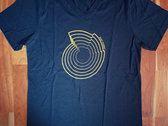 SALE - Heart Chakra Nautilus Unisex V-Neck T-Shirt photo