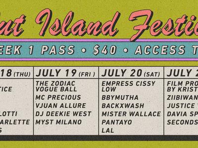 Slut Island Week 1 Festival Pass main photo