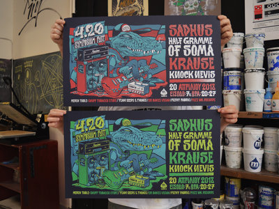 4.20 Symposium Fest Poster (Sadhus, Half Gramme of Soma, Krause, Knock Nevis) main photo