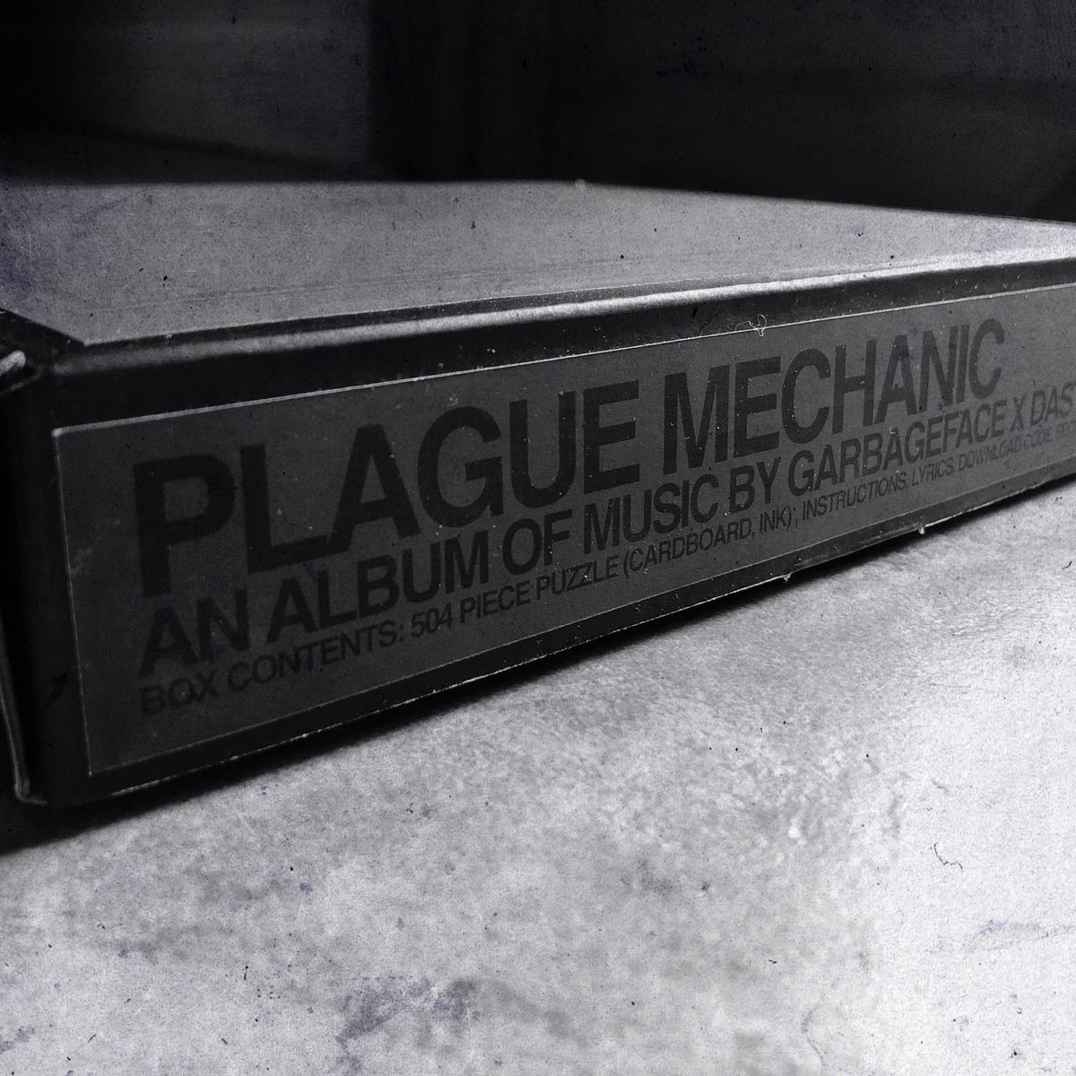 Plague Mechanic Puzzle + Download Code or CD | garbageface