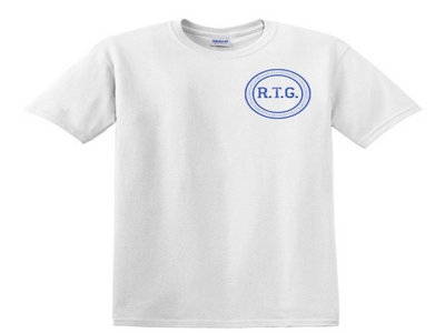 RTG Tee (white/royal blue) main photo