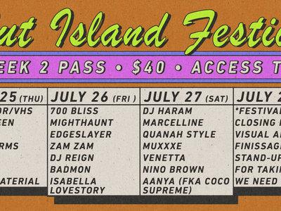 Slut Island Week 2 Festival Pass main photo