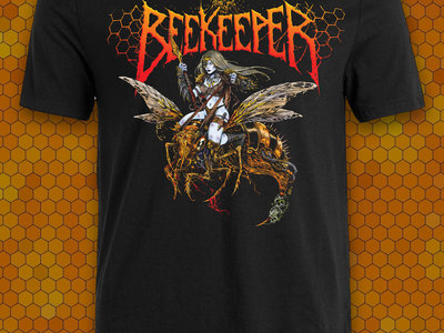 (Pre Sale) Full Color Bee Babe T-shirt main photo