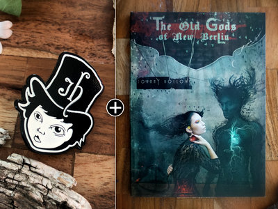 The Old Gods of New Berlin - Basic Bundle - Digital Download, CD & Johnny Hollow Pin main photo