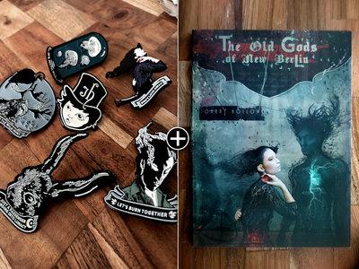 The Old Gods of New Berlin - Premiere Bundle - Digital Download, CD & Enamel Pins Full Set of Six main photo