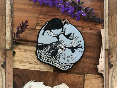 """The Old Gods of New Berlin - Digital Download and Limited Edition Enamel Pin """"Wild Hunt"""" Design main photo"""