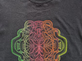 Entangled Everything ★ UV reactive ★ organic hemp T-shirt photo