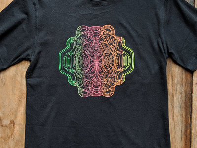 Entangled Everything ★ UV reactive ★ organic hemp T-shirt main photo