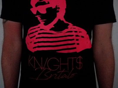 KNIGHT$ Britalo Pink (Oversized Front Print) main photo