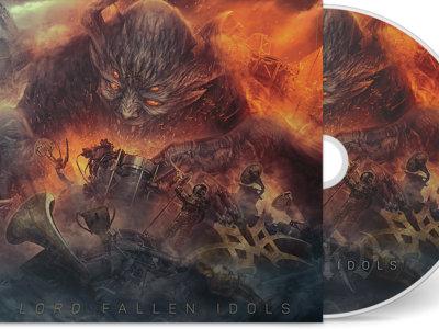 Fallen Idols CD + Bonus Disc + T-Shirt + Patches Bundle main photo