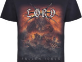 Fallen Idols CD + Bonus Disc + T-Shirt + Patches Bundle photo