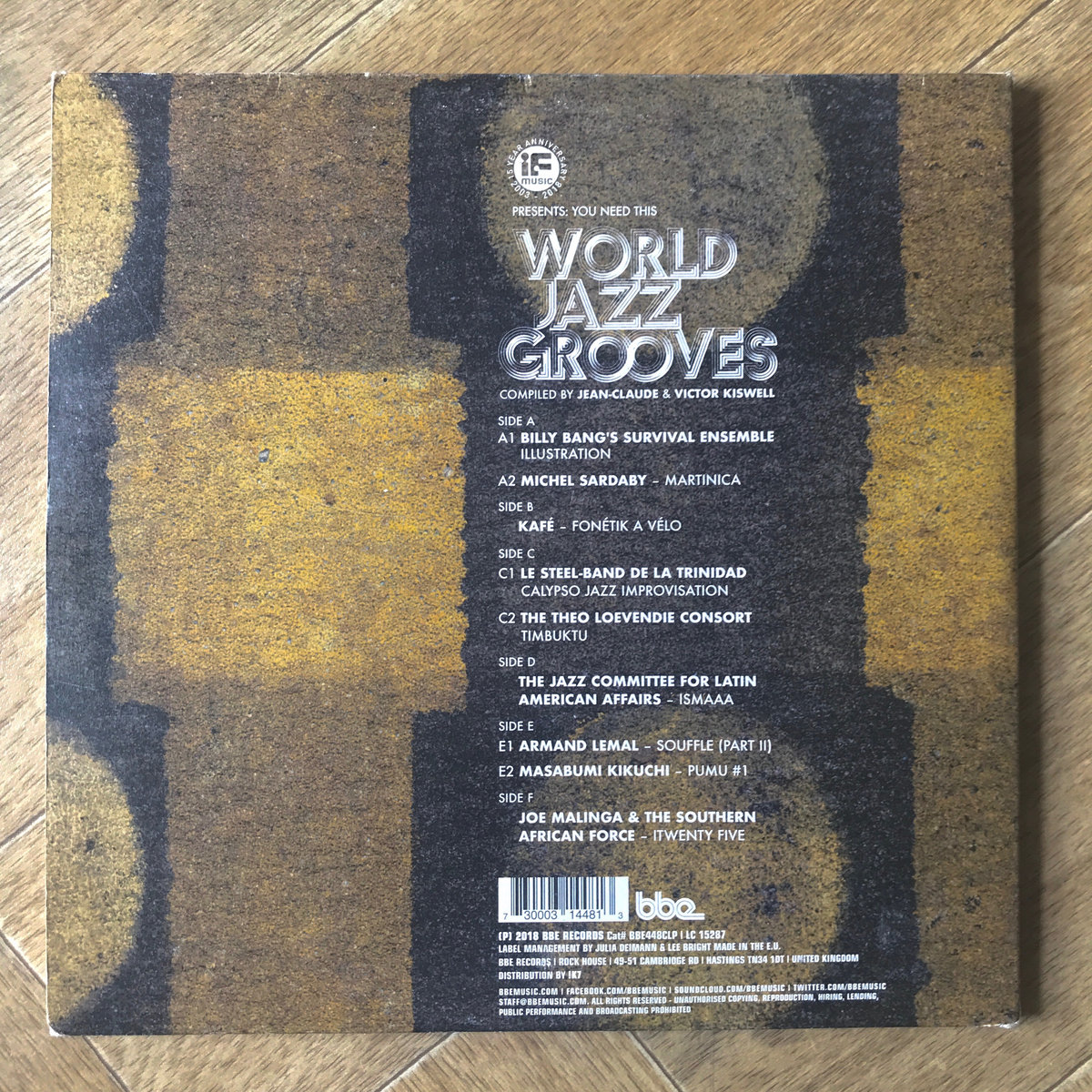 IF Music Presents: You Need This World Jazz Grooves Compiled