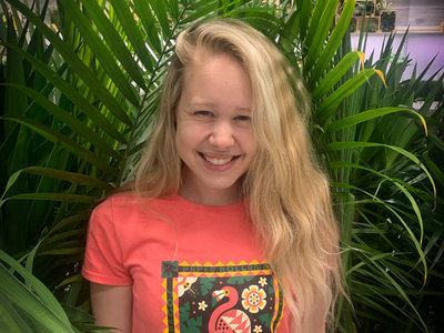 Galápagos Flamingo Coral T-Shirt main photo