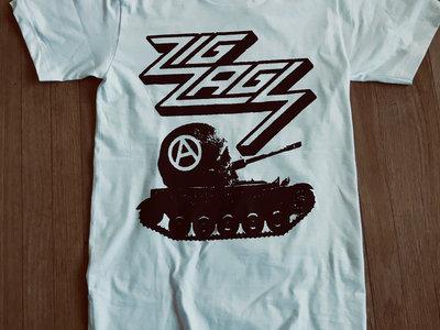 """Branca Studio Anarcho-Tank Design T-shirt"" main photo"