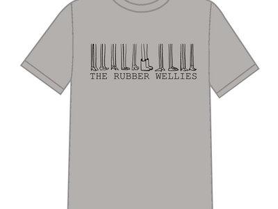 "The Rubber Wellies ""10 Year Tour"" T-Shirt (Grey) main photo"