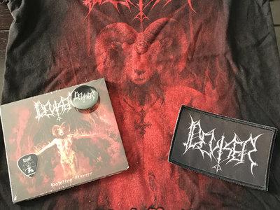 "Deviser-Bundle('Howling Flames""Digipack CD+Black mass T-shirt + Extras main photo"