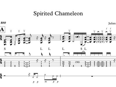 Birth of the Chameleon - GUITAR TABS main photo