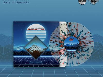 Abstract Void 'Back to Reality' LP - splatter vinyl main photo