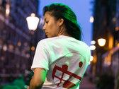 LNB label tee - white photo