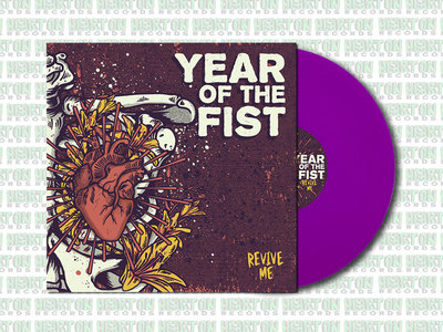 """Year Of The Fist """"Revive Me"""" Colored Vinyl main photo"""