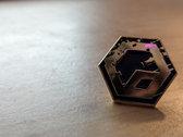 Purple & Gold Pin photo