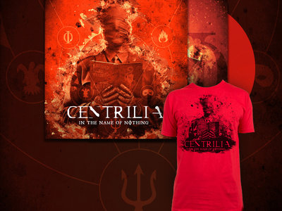 In The Name Of Nothing - Transparent Red Vinyl + T shirt main photo