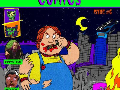 DEATH CAT Comics Issue #7 Chunky/Paradigm Motel main photo
