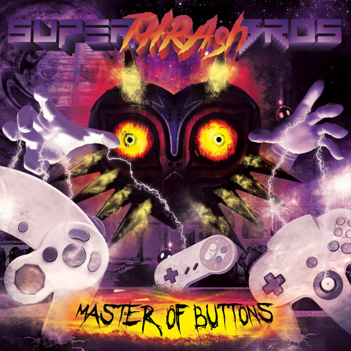 Master of Buttons | Super Thrash Bros