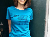Cow Lady T-shirt (Fitted Cut) photo