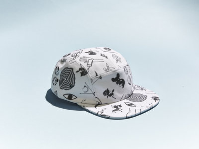 Empty Cellar Print-All-Over 6-Panel Hat (Proceeds Benefit The Young Center for Immigrant Children's Rights) main photo